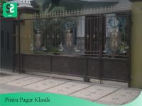Pintu Pagar Klasik 2 - Bengkel Las Depok
