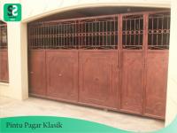 Pintu Pagar Klasik 3 - Bengkel Las Depok