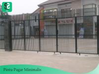 Pintu Pagar Minimalis 9 - Bengkel Las Depok