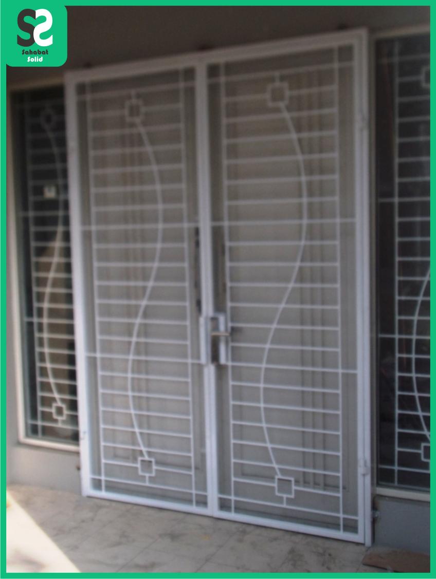 modelrumahminimalis 2016 contoh pintu besi minimalis images