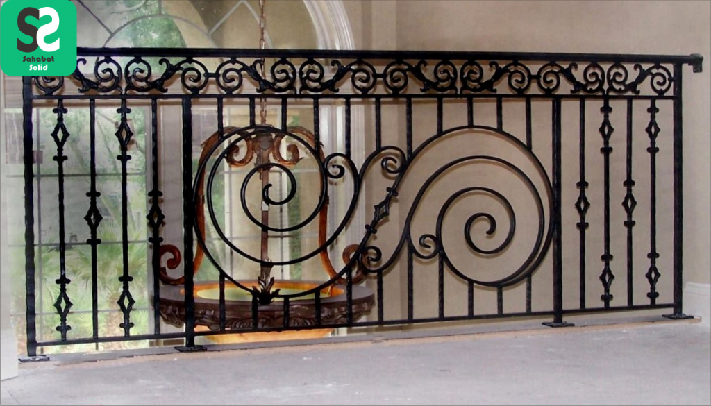 Railing Balkon Minimalis - Sahabat Solid